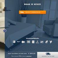 Waterbed configureren met de online waterbed configurator